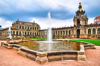 Zwinger museum in Dresden