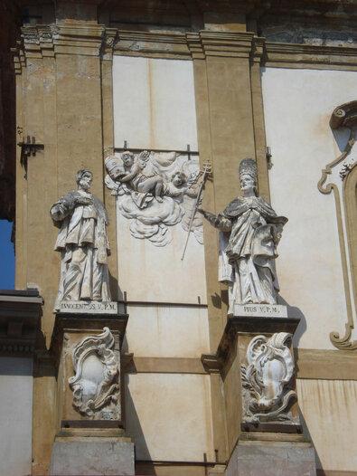 Palermo San Domenico papi Inocentiy Pi