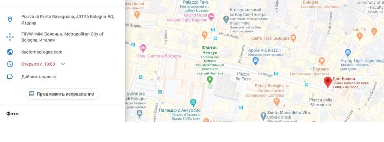 map due tori