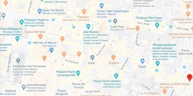 map palazzo borgellini